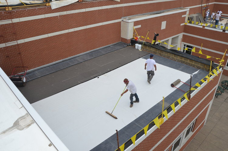 Commercial Roofing Photo Gallery David Maines Roofing In